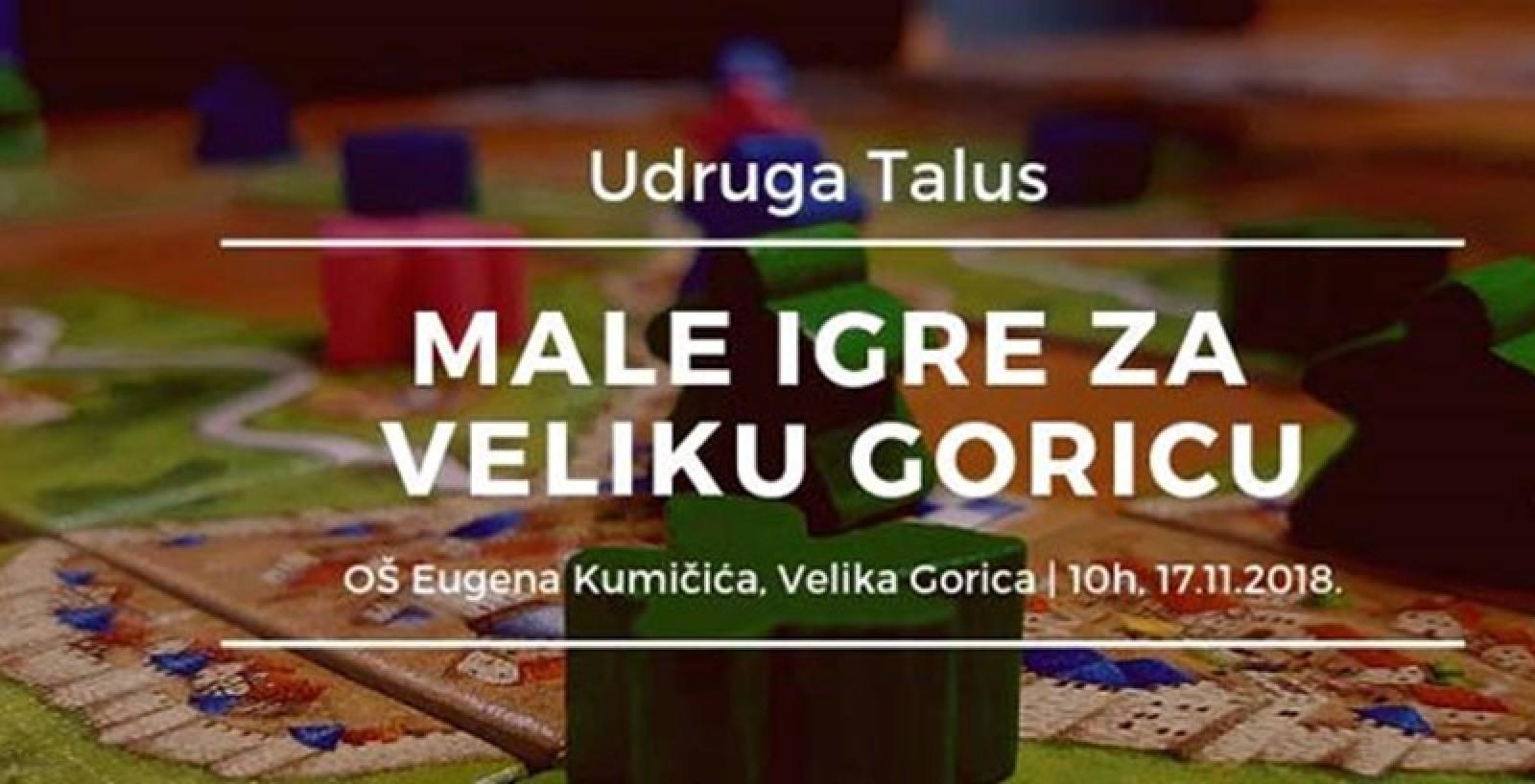 Male igre za Veliku Goricu