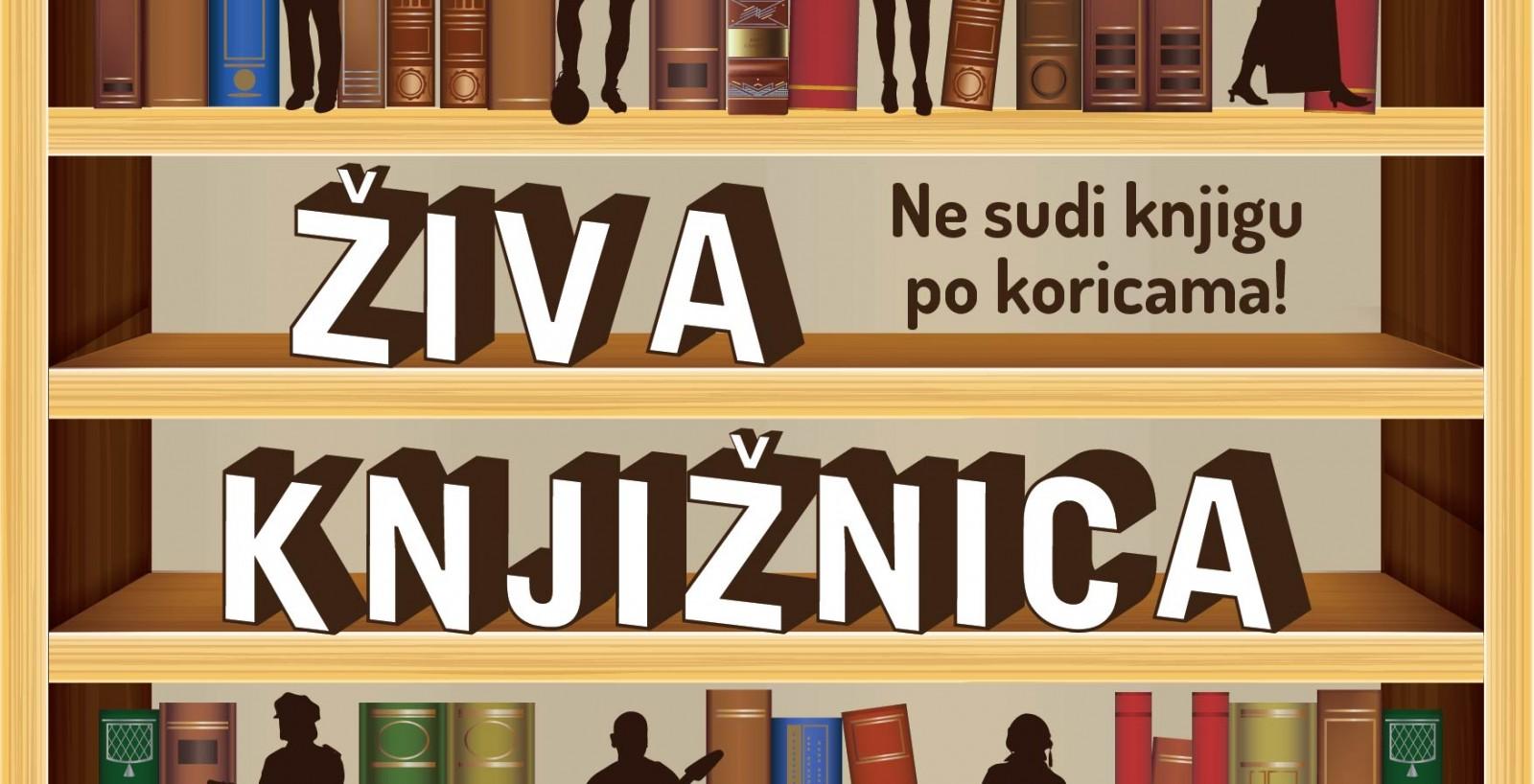 """Prva """"Živa knjižnica"""" u Velikoj Gorici"""