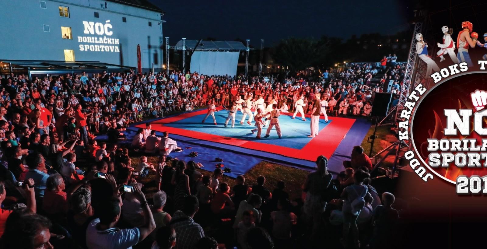 Noć borilačkih sportova i Rekreatur ovog vikenda