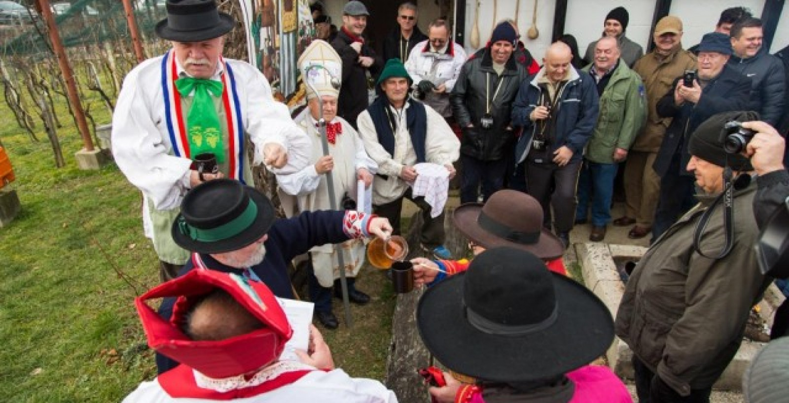 Proslava Vincekova u Vukomeričkim goricama