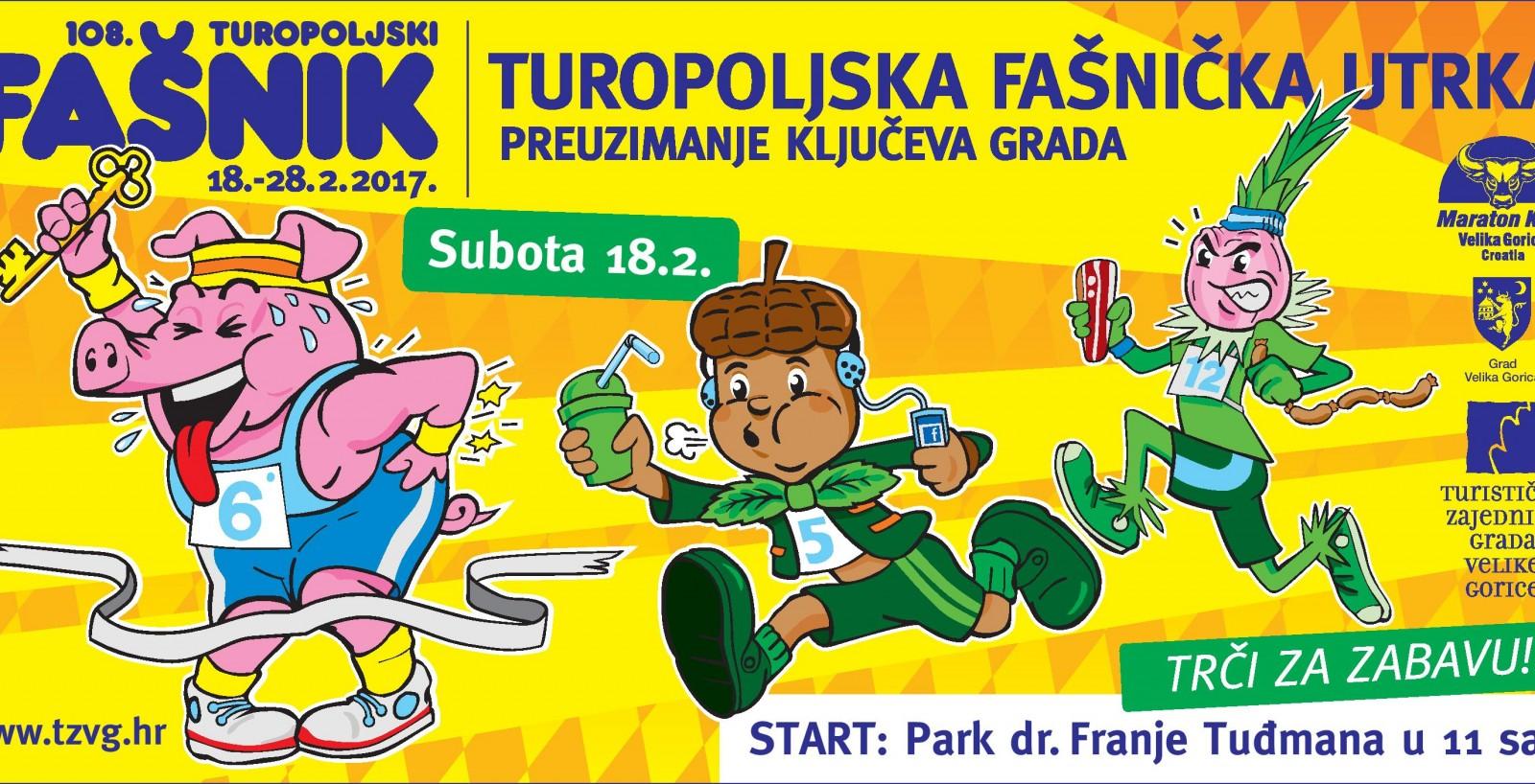 Turopoljska fašnička utrka - trkom do ključa!