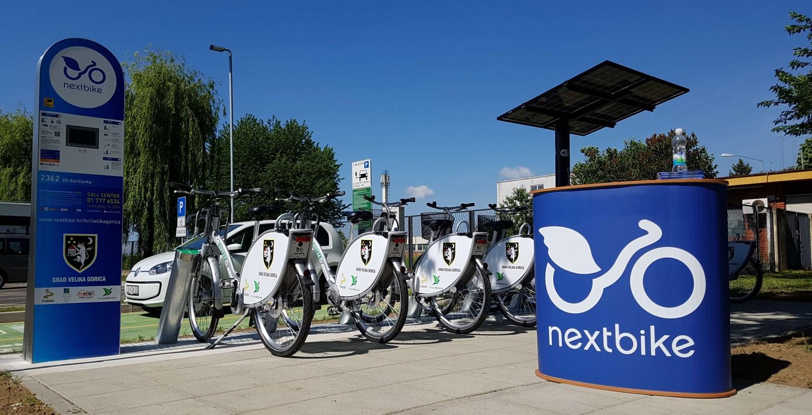 Javni bicikli i u Velikoj Gorici
